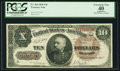 Large Size:Treasury Notes, Fr. 366 $10 1890 Treasury Note PCGS Apparent Extremely Fine 40.. ...