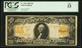 Large Size:Gold Certificates, Fr. 1183 $20 1906 Gold Certificate PCGS Fine 15.. ...
