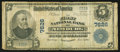 National Bank Notes:West Virginia, Newburg, WV - $5 1902 Plain Back Fr. 598 The First NB Ch. # 7626. ...