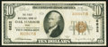 National Bank Notes:Ohio, Oak Harbor, OH - $10 1929 Ty. 1 The First NB Ch. # 6632. ...