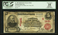 National Bank Notes:New York, New York, NY - $5 1902 Red Seal Fr. 588 The National City Bank Ch. # (E)1461. ...