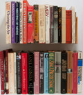 Books:Art & Architecture, [Film and Television]. SIGNED. Group of Thirty-Four Books About Film and Television Personalities and History. Various publi... (Total: 34 Items)