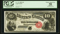 Large Size:Legal Tender Notes, Fr. 111 $10 1880 Legal Tender PCGS Apparent Choice About New 58.. ...