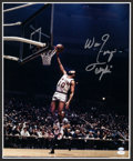 Basketball Collectibles:Photos, NBA Legends Signed Oversized Photographs Lot of 5....