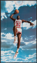 Basketball Collectibles:Others, 1990's Michael Jordan Oversized Posters Lot of 3....