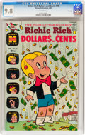 Silver Age (1956-1969):Cartoon Character, Richie Rich Dollars and Cents #29 File Copy (Harvey, 1969) CGC NM/MT 9.8 Off-white pages....