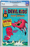 Bronze Age (1970-1979):Humor, Devil Kids Starring Hot Stuff #67 File Copy (Harvey, 1974) CGC NM+9.6 Off-white to white pages....