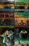 Books:Periodicals, Group of Twelve Issues of Science Fiction Monthly. Eleven issues from the first volume with volume two number one. 1974-1975... (Total: 12 Items)