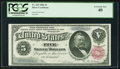 Large Size:Silver Certificates, Fr. 265 $5 1886 Silver Certificate PCGS Extremely Fine 40.. ...