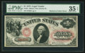 Large Size:Legal Tender Notes, Fr. 24 $1 1875 Legal Tender PMG Choice Very Fine 35 EPQ.. ...