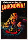 Golden Age (1938-1955):Horror, Adventures Into The Unknown #2 (ACG, 1948) Condition: VG....
