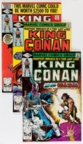 Modern Age (1980-Present):Science Fiction, King Conan #1-54 Group (Marvel, 1980-89) Condition: Average NM....(Total: 54 Comic Books)