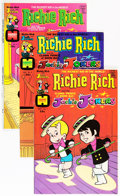 Bronze Age (1970-1979):Cartoon Character, Richie Rich and Jackie Jokers File Copy Group (Harvey, 1972-82)Condition: NM-.... (Total: 106 Comic Books)
