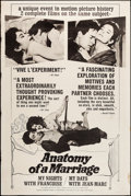 """Movie Posters:Foreign, Anatomy of a Marriage & Other Lot (Janus, 1964). Posters (2) (40"""" X 60""""). Foreign.. ... (Total: 2 Items)"""