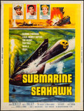 "Movie Posters:War, Submarine Seahawk & Other Lot (American International, 1958).Posters (2) (30"" X 40""). War.. ... (Total: 2 Items)"
