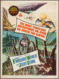 "Movie Posters:Fantasy, The Fabulous World of Jules Verne (Warner Brothers, 1961). Poster (30"" X 40""). Fantasy.. ..."