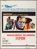 "Movie Posters:War, Morituri (20th Century Fox, 1965). Poster (30"" X 40""). War.. ..."