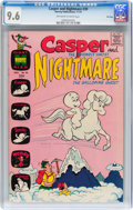 Bronze Age (1970-1979):Cartoon Character, Casper and Nightmare #30 File Copy (Harvey, 1970) CGC NM+ 9.6Off-white to white pages....