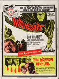 """Movie Posters:Horror, Witchcraft/The Horror of it All Combo (20th Century Fox, 1964). Poster (30"""" X 40""""). Horror.. ..."""