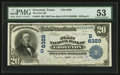 National Bank Notes:Texas, Groveton, TX - $20 1902 Date Back Fr. 642 The First NB Ch. # (S)6329. ...