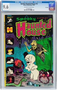 Spooky Haunted House #13 File Copy (Harvey, 1974) CGC NM+ 9.6 Off-white to white pages