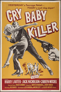 "Cry Baby Killer (Allied Artists, 1958). Poster (40"" X 60""). Crime"
