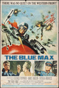 "Movie Posters:War, The Blue Max (20th Century Fox, 1966). Poster (40"" X 60""). War....."