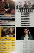 Miscellaneous:Movie Posters, [Movie Posters]. Lot of 32 Lobby Cards. Films include Iron Eagle, Jagged Edge, Sunshine Boys and The Seventh Sign. Fine....
