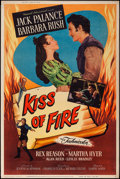 "Movie Posters:Adventure, Kiss of Fire (Universal International, 1955). Poster (40"" X 60"")Style Y. Adventure.. ..."