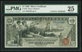 Large Size:Silver Certificates, Fr. 225 $1 1896 Silver Certificate Courtesy Autograph PMG Very Fine 25.. ...
