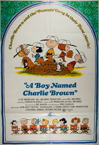 [Movie Posters] Group of Three Posters for Children's Films. Includes A Boy Named Charlie Brown, Annie, and Care Bear