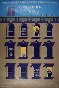 [Movie Posters] Group of Two Woody Allen One Sheet Posters. Includes New York Stories and A Midsummer N