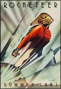 "Movie Posters:Action, The Rocketeer (Walt Disney Pictures, 1991). Autographed One Sheet(27"" X 40"") DS Advance. Action.. ..."