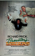 "Miscellaneous:Movie Posters, [Movie Posters]. Group of Four Richard Pryor One Sheet Comedy Posters. Each 41"" x 27"". Includes Brewster's Millions and ... (Total: 4 Items)"