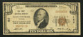 National Bank Notes:Kansas, Leavenworth, KS - $10 1929 Ty. 1 The First NB Ch. # 182. ...