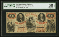 Raleigh, NC- The Bank of North Carolina $20 G86