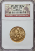 Modern Issues, 2008-W $10 Jackson's Liberty Half-Ounce Gold MS70 NGC. NGC Census:(0). PCGS Population (132). Numismedia Wsl. Price for p...