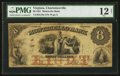 Obsoletes By State:Virginia, Charlottesville, VA- Monticello Bank $8 July 1, 1861 G18a Jones BC25-21A. ...