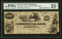 Wilmington, NC- Commercial Bank of Wilmington $100 Feb. 1, 1861 G18a