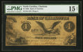 Charlotte, NC- Bank of Charlotte $4 March 1, 1857 G4