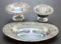 Silver & Vertu:Hollowware, A GROUP OF THREE KIRK & SON SILVER HOLLOWWARE SERVING PIECES . Samuel Kirk & Son, Baltimore, Maryland, circa 1900. Marks to ... (Total: 3 Items)