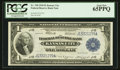 Fr. 738 $1 1918 Federal Reserve Bank Note PCGS Gem New 65PPQ