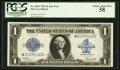 Fr. 238* $1 1923 Silver Certificate PCGS Choice About New 58