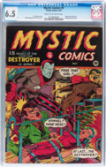 Golden Age (1938-1955):Superhero, Mystic Comics #9 (Timely, 1942) CGC FN+ 6.5 Cream to off-white pages....