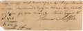 "Autographs:Statesmen, Thomas Mifflin Promissory Note Signed. One page, 8"" x 3"",Philadelphia, August 12, 1786. Mifflin (1744-1800), a general int..."