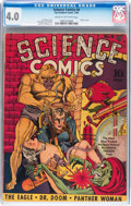 Golden Age (1938-1955):Science Fiction, Science Comics #4 (Fox, 1940) CGC VG 4.0 Cream to off-whitepages....