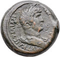 Ancients:Roman Provincial , Ancients: EGYPT. Alexandria. Hadrian. AD 117-138. Æ drachm (30mm,23.90 gm, 11h)....
