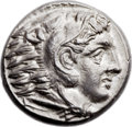 Ancients:Greek, Ancients: MACEDONIAN KINGDOM. Alexander III the Great (336-323 BC).AR tetradrachm (25mm, 17.17 gm, 10h)....