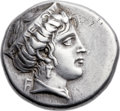 Ancients:Greek, Ancients: ELIS. Olympia. Ca. 336 BC. AR stater (26mm, 12.11 gm,10h). ...