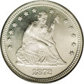 Proof Seated Quarters: , 1872 25C PR65 Cameo PCGS. Only 950 proofs were struck of the 1872,and it is a very scarce item above the PR63 level. This ...